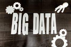 Stora data för internet Arkivbild