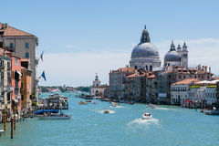 Stora di Venezia för kanal arkivbild
