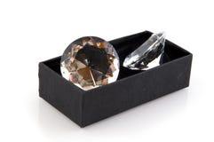 stora diamanter royaltyfri fotografi