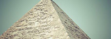 Stora egyptiska pyramider i Giza, Kairo Fotografering för Bildbyråer