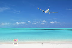 Stora Exuma, Bahamas Arkivfoton