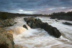 stora falls Arkivbild