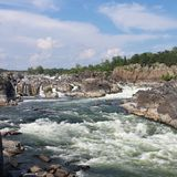 stora falls Royaltyfri Foto