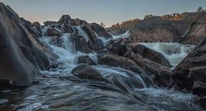 stora falls Arkivfoto