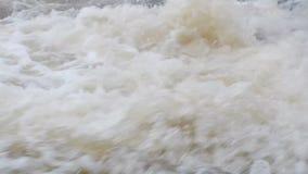 Stora flöden för vattenfall arkivfilmer