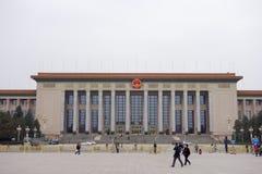 Stora Hall i Peking Fotografering för Bildbyråer