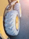 stora hjul Royaltyfri Foto