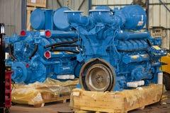 Stora industriella generatorer Arkivbild