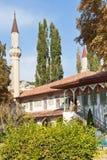 Stora Khan Mosque av Khans slott i Krim Royaltyfria Bilder