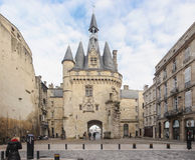 Stora Klocka av Bordeaux Royaltyfri Fotografi