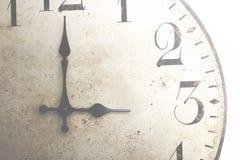 Stora klockagungor som det obevekliga flödet av tid arkivfoto