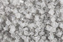 Stora kristaller av natriumkloriden Royaltyfri Foto