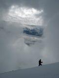 stora liggandebergberg Royaltyfri Fotografi