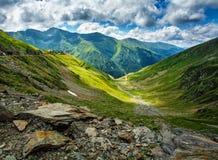 stora liggandebergberg carpathian berg romania Royaltyfria Foton