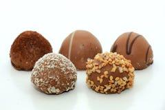Stora lyxiga choklader Royaltyfri Fotografi