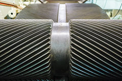 Stora mekaniska kugghjul Royaltyfri Bild