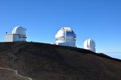 stora observatorium för mauna för hawaii ökea Royaltyfria Bilder