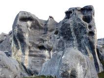 Stora och vidsträckta klippor Royaltyfri Foto