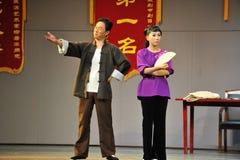 Stora ord baktalar inte - den historiska stilsången och att dansa magisk magi för drama - Gan Po Royaltyfria Bilder