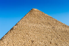 Stora pyramider egypt Arkivbilder