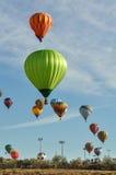 Stora Reno Balloon Race Arkivbilder