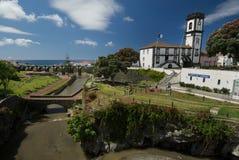 Stora Ribeira, Azores, Portugal royaltyfria foton