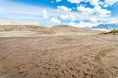 Stora sanddyn Colorado Arkivbilder