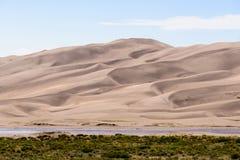 Stora sanddyn - Colorado Royaltyfri Fotografi