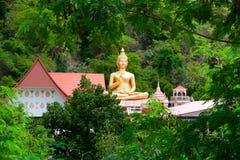 Stora sittande buddha, Khao ringde Royaltyfri Fotografi