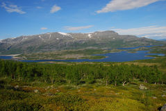 Stora Sjöfallets National Park Stock Photos