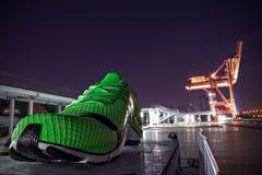 stora skor Fotografering för Bildbyråer