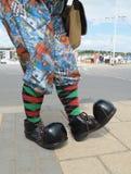 stora skor Royaltyfri Bild