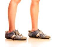stora skor för Royaltyfri Foto