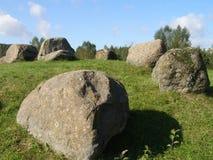 stora stenar Arkivfoto