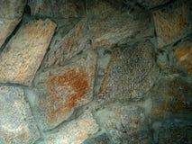 Stora stenar för färg i betong Arkivfoton