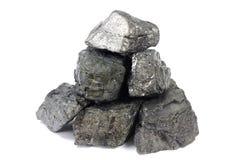 Stora stora bitar av kol Royaltyfria Foton