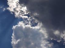 Stora stormmoln Royaltyfri Bild