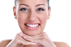 Stora tänder Arkivfoton