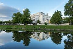 Stora Teatern, storslagen etapp för Göteborg ` s Royaltyfria Foton