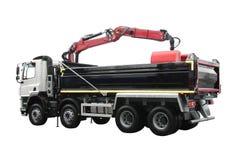 Stora Tipper Lorry royaltyfri bild