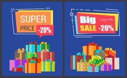 Stora toppna affischer för Promo för Sale bästa prisrabatter Fotografering för Bildbyråer
