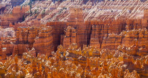 Stora tornspiror som bort snidas av erosion Royaltyfria Foton