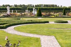 Stora trädgårdar, Herrenhausen, Hannover, lägre Sachsen, Tyskland Royaltyfri Bild
