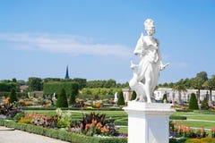 Stora trädgårdar, Herrenhausen, Hannover, lägre Sachsen, Tyskland Arkivfoton
