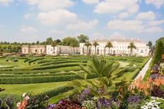 Stora trädgårdar, Herrenhausen, Hannover, lägre Sachsen, Tyskland Arkivbilder