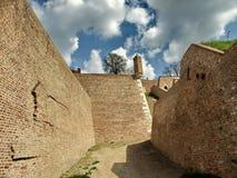 Stora väggar av fästningen Royaltyfri Foto