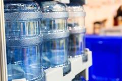 Stora vattenflaskor Royaltyfria Foton
