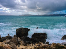 stora waves Royaltyfri Fotografi