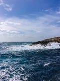 stora waves Arkivfoton