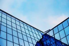 Stora Windows av den moderna byggnaden Fotografering för Bildbyråer